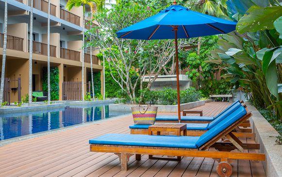 Poussez les portes de l'hôtel Deevana Plaza Krabi Ao Nang 4*