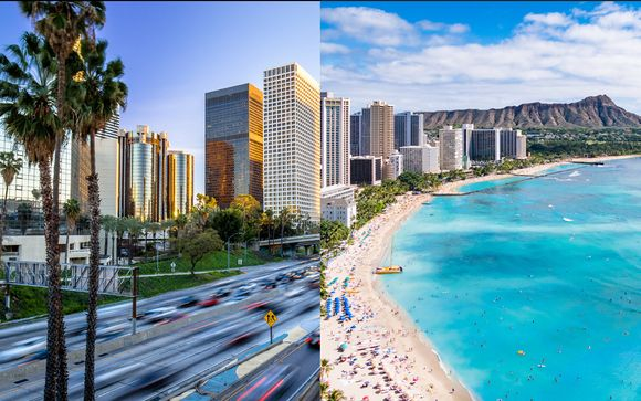 Combiné 4* Luxe Sunset Boulevard et Sheraton Waikiki