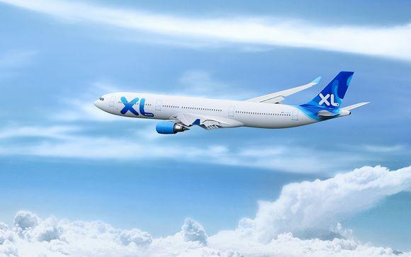 Offrez-vous un vol direct en classe économique avec XL Airways