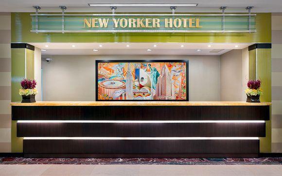 Poussez les portes de l'hôtel The Wyndham New Yorker 4*