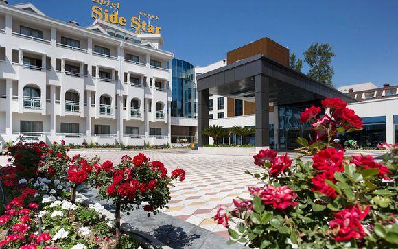 Poussez les portes de votre hôtel Side Star Beach 5*