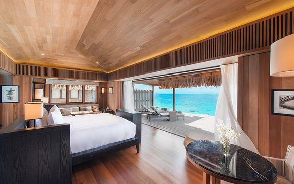 Poussez les portes de l'hôtel Conrad Bora Bora Nui 5*