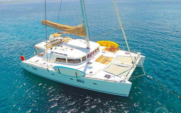 Croisière Les îles grecques en catamaran 8 jours/7 nuits