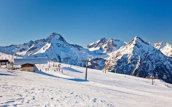 Il comprensorio sciistico Les Deux Alpes