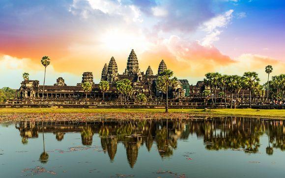Imperdibile Tour della Cambogia con soggiorno a Siem Reap