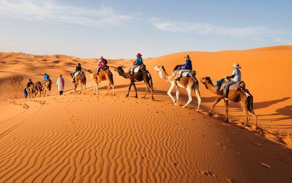 Tour nel deserto alla scoperta di dune e oasi