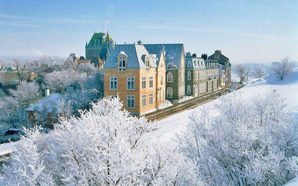 Tour invernale Québec