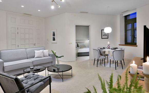 Lusso e comfort in splendidi appartamenti vicino all'Agorà