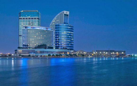 Dubai - Il Crowne Plaza Dubai Festival City 5*