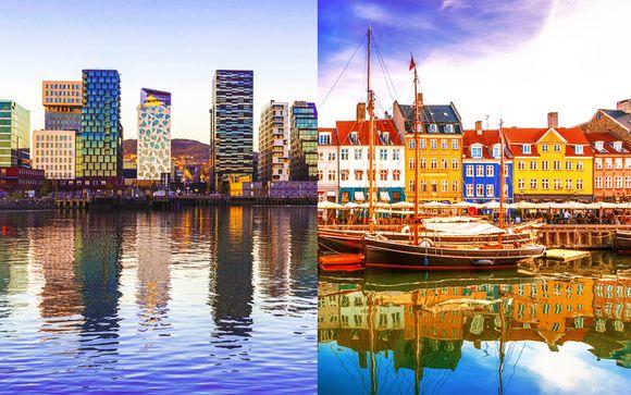 Oslo e Copenhagen con minicrociera