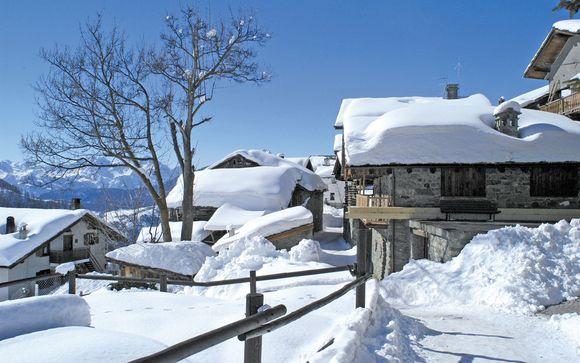 Chamois, sapori valdostani e panorami eccezionali in hotel 4*