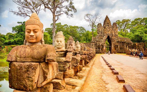 Tour della Cambogia - itinerario
