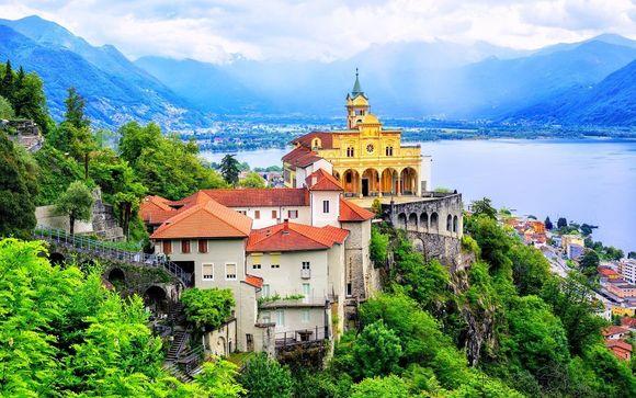 Accogliente hotel in centro a due passi dal Lago Maggiore