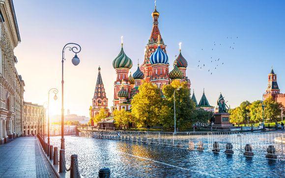 Tour di Helsinki, San Pietroburgo e Mosca
