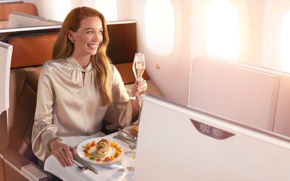 Regalatevi il lusso di un volo con Oman Air