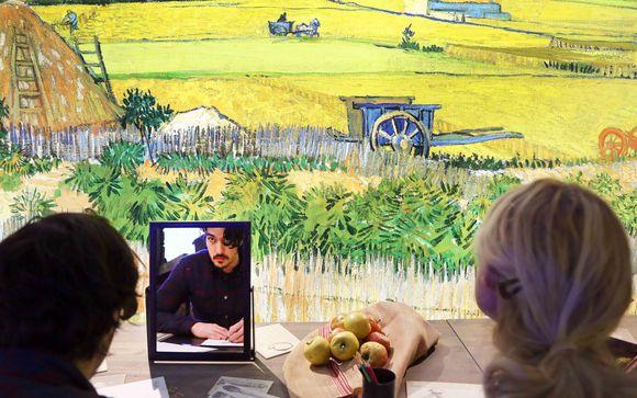 Ingresso alla mostra di Vincent van Gogh