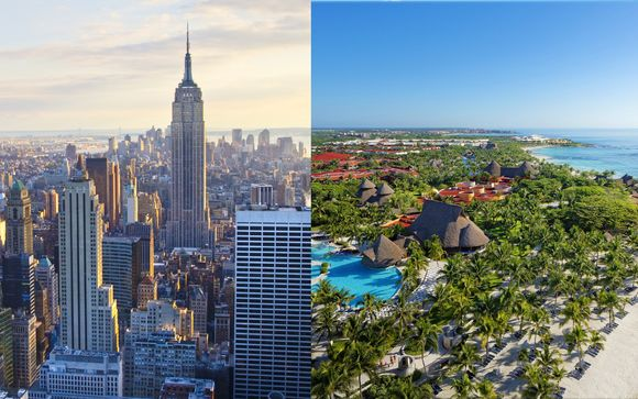 4* nel cuore di Manhattan e relax All Inclusive in Messico
