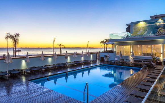 Accogliente hotel con splendida posizione fronte oceano