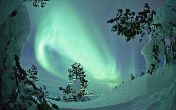 Alla ricerca dell'aurora boreale, festività invernali e marzo 2018
