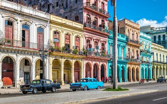 El ritmo de Cuba, L'Avana & relax All Inclusive sulla playa
