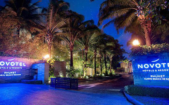 Novotel Phuket Surin Beach Resort 4*