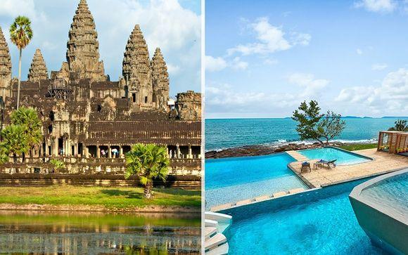 Cambogia, tour classico con soggiorno mare