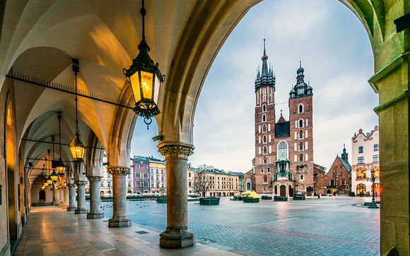 City Break a Cracovia - Hotel Legend