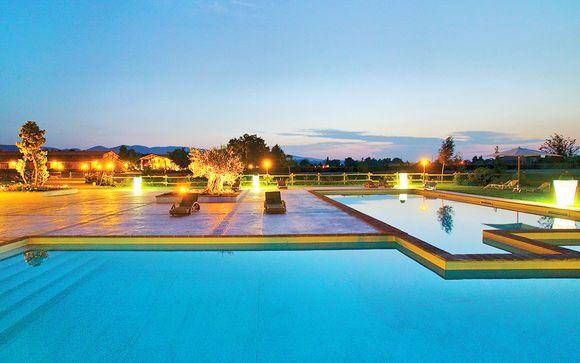 Relais 4* con spa immerso nel verde dell'Umbria