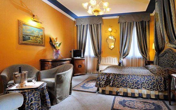 Atmosfere romantiche in dimora storica 4* nel cuore di Venezia
