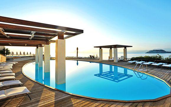Design raffinato e relax All Inclusive in 5* panoramico