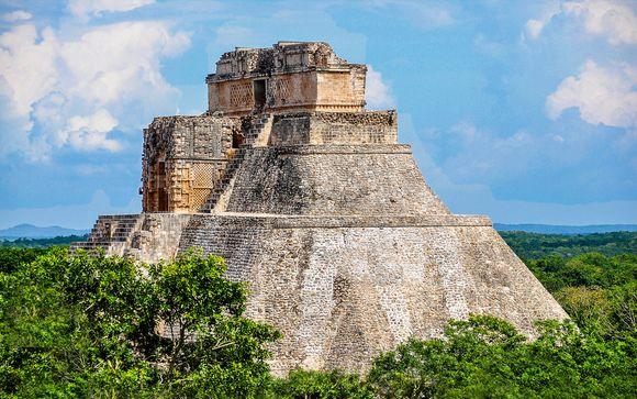 Alla scoperta dello Yucatan e soggiorno mare in hotel 4*