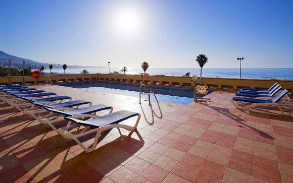 Moderno 4* affacciato sulla meravigliosa spiaggia Los Boliches