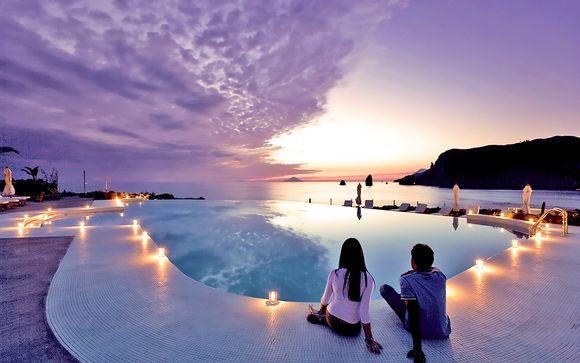 Lusso e tramonti mozzafiato in Resort & spa 5*