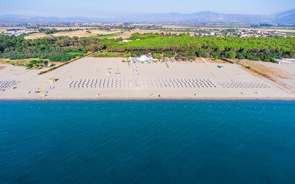 Resort All Inclusive direttamente sulla spiaggia