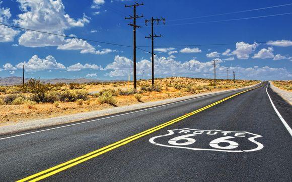 Route 66 con noleggio auto incluso