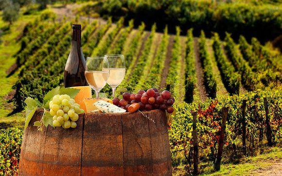 Degustazioni e cultura in villa 4* nella campagna di Arezzo
