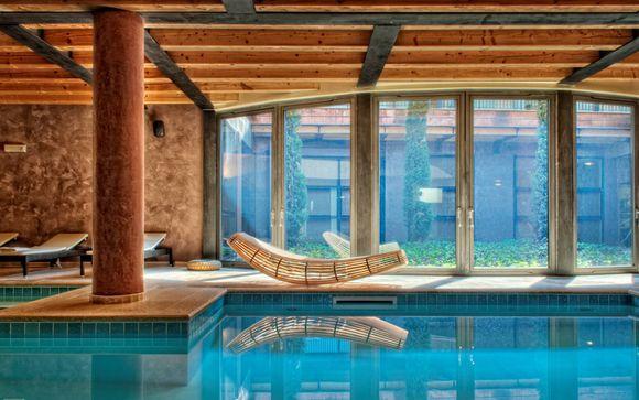Junior Suite e spa in hotel di design alle porte di Verona