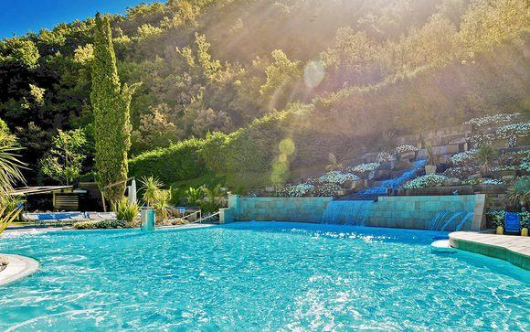Elegante wellness resort 4* con piscine termali esterne