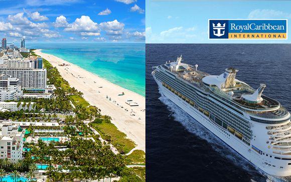 El Paseo South Beach Miami 4*+ Crociera a bordo di Mariner of the Seas alle Bahamas