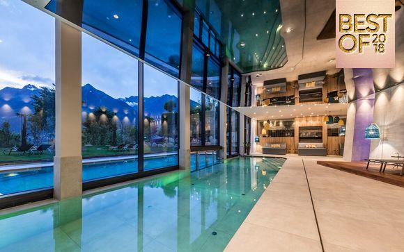 Romantiche Suite in spa Resort 4*S in Alto Adige