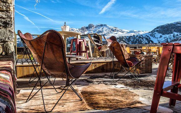 Design alpino in boutique hotel sulle piste da sci