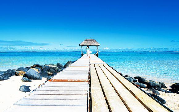 Vista incredibile a 5* sulla spiaggia di Bel Ombre
