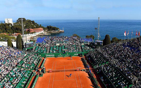 Monte Carlo Rolex Masters & Prince de Galles 4* Mentone