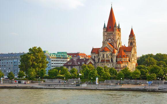 L'itinerario da Bucarest a Vienna per le partenze del 16/07 3 05/08