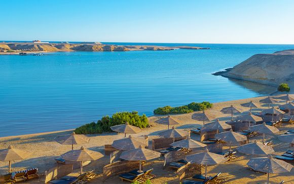 All Inclusive in 4* nella baia naturale di Gebel El Rosas
