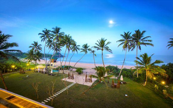 Tour privato dello Sri Lanka con estensione mare