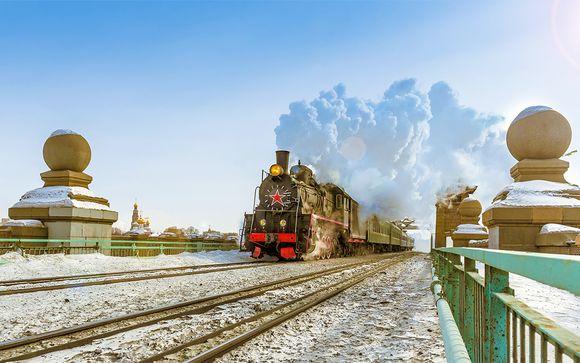 Fantastica avventura in Transiberiana ai confini dell'Asia