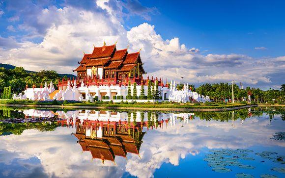 Autentica Thailandia in 4* tra città, natura e mare