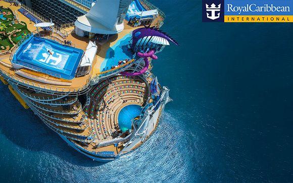 Vivi in prima fila i Caraibi sulla nave più grande al mondo