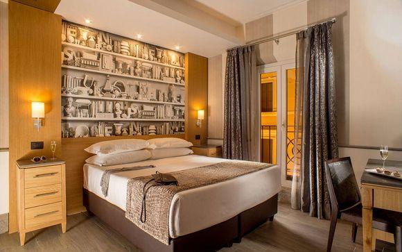 Eleganti camere Deluxe nel cuore della Capitale